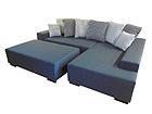 Угловой диван Julius + пуф SN-33744