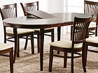 Удлиняющийся обеденный стол Joy 90x145+33 cm EV-34739