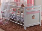 Детская кроватка Cinderella 70x140 см SM-36704