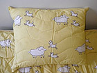 Подушка из овечьей шерсти 50x60 см