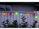 10 LED цветных садовых светильников AA-38912