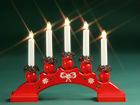 Подсвечник с электрическими свечами Sanna AA-42840