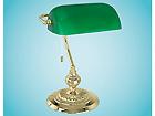 Настольная лампа Banker зелёная MV-43457