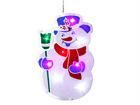 Рождественская декорация на окно Снеговик AA-44136