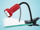 Настольный светильник Fabio красный MV-44303