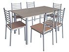 Обеденный стол Emma + 6 стульев AQ-44664