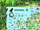 Regio карта Эстонии 1:360 000 RW-45448