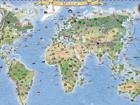 Regio карта мира с подвеской RW-45469