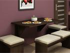 Складной стол 70x130 cm TF-58375