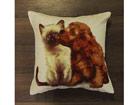 Декоративная подушка из гобелена Pets 45x45cm TG-59887