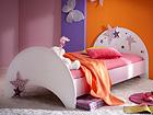 Детская кровать Fairy + матрас Inter Pocket 90x190 cm CM-60394