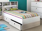 Детская кровать Game + матрас Inter Pocket 90x190 cm