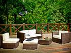 Садовая мебель + кресло, пуф и журнальный стол CM-60675