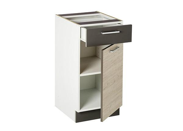 Нижний кухонный шкаф с ящиком 40 cm