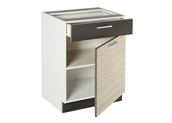 Нижний кухонный шкаф с ящиком 60 cm