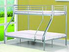 Двухъярусная кровать Nicolas 140x200 и 90x200 cm AQ-61151