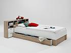 Комплект кровати Fabio 90x200 cm SM-62650