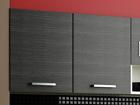 Верхний кухонный шкаф с решёткой для посуды TF-62793