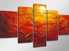 Картина из 5-частей Солнечный закат ED-65586
