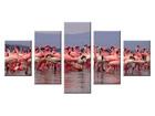 Картина из 5-частей Фламинго ED-65622