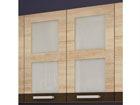 Верхний кухонный шкаф с двумя стеклянными дверьми 80 cm TF-65935