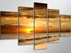 Картина из 5-частей Солнечный закат ED-66667