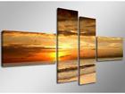 Картина из 4-частей Закат 160x70 cm ED-66679