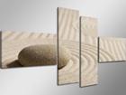 Картина из 4-частей Камень на песке ED-66680