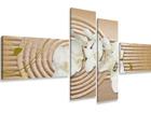 Картина из 4-частей Орхидея на песке ED-66689