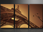 Картина из 3-частей Эйфелева башня ED-67570
