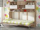 Детская откидная кровать-шкаф 90x200 cm TF-67698
