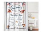 Spirella текстильная штора для ванной Crab Snack UR-67749