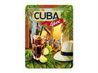 Металлический постер в ретро-стиле Cuba Libre 15x20 см SG-68142
