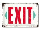 Металлический постер Exit 20x30 см SG-68153