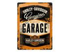 Металлический постер в ретро-стиле Harley-Davidson Garage 30x40 см SG-68162