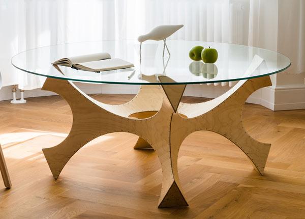 Журнальный / обеденный стол Nemo Ø 100 cm BO-68678