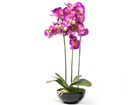 Искусственный цветок Розовая орхидея 72 cm EV-69042