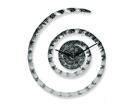 Настенные часы Spiraal Crumpled, хром A5-69362