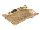 Поднос Crumpled маленький, золотистый A5-69504