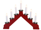 Подсвечник с электрическими свечами Ada AA-69655