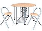 Складной стол + 2 складных стула Bertia AQ-69743