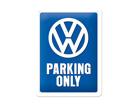 Металлический постер в ретро-стиле Parking Only 15x20cm SG-70333