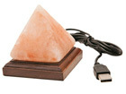 Соляная лампа мини, пирамида TQ-70589