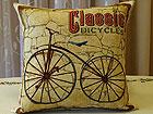 Декоративная подушка из гобелена Велосипед 45x45 cm TG-70914