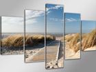 Картина из 5-частей Пляж ED-71660