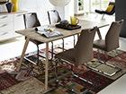 Обеденный стол Oslo 90x180 cm SM-71725