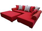 Угловой диван Matilde + пуф SN-71799