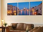 Картина City River 60x180 cm QA-72084