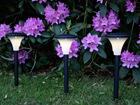 Садовый светильник с солнечной панелью 3 шт AA-72910