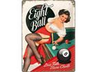 Металлический постер в ретро-стиле The Eight Ball 30x40cm SG-73500